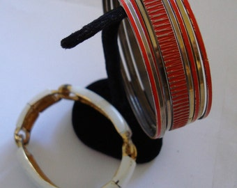 Lot of 2 BRACELETS , ONE PRICE for the group , please See description for details