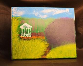 Garden Pavilion painting