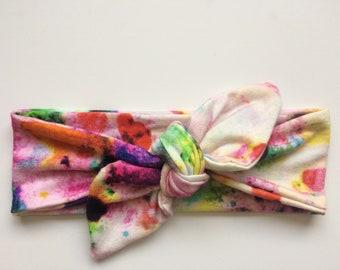 Baby Knot Headband | Top Knot Headband | Jersey Knit | Baby Headband | Baby Accessories | Baby Girl
