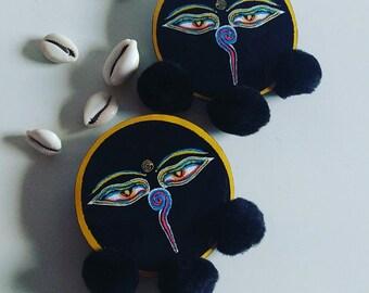 Egyptian Bold Earrings (Zoya)