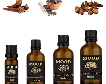 Clove bud essential oil natural aromatherapy essential oils