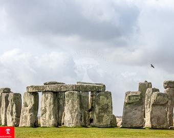 british wall print | druids | wander art print | pagan photo print | england art photography | pagan print | stonehenge | spiritual photo