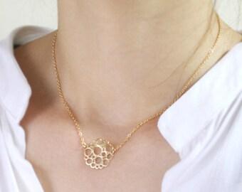 Bubbles pendant Necklace - S2275-1