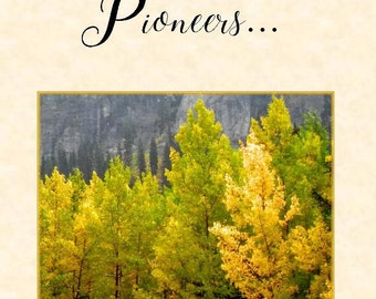 JW, Pioneers greeting card, thank you