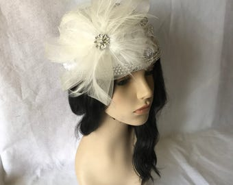White Ladies Church hat, Mother's Day, White Pillbox hat, Women's White Church hat, Formal White hat, White Wedding hat, Kentucky Derby hat