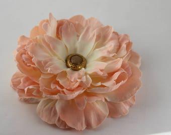 Peach Hair Piece