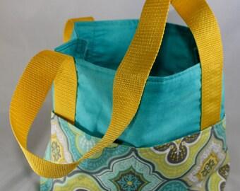 Organizing Bag ~ Delightful Damask