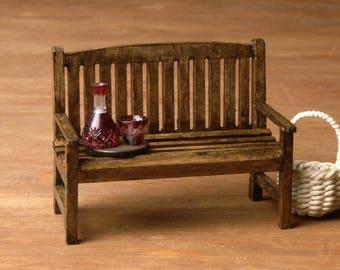 Miniature Garden Bench for Your Fairy Garden