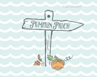 Pumpkins SVG Pumpkin Patch SVG Cricut Explore & more.  Halloween Pumpkin Patch Fall Autum Sign Pumpkins SVG