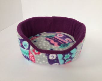 Cuddle Cup | Absorbent | Guinea Pigs | Fleece for Piggies | Sleepy Owls | Ready to Ship