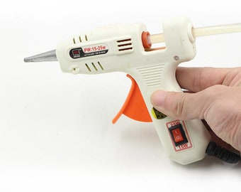 Accessories Glue Gun, High Temperature Melting Glue Gun, Flexible Trigger Glue Gun, 25W Glue Gun, Hot Melt Glue Gun  HZJQ01