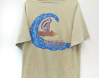 "Vintage MAMBO//Old School Monkey Surf Grapichs//Pop Art//Size L""//Made In Australia"