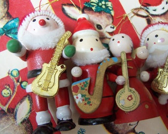 four band members christmas ornaments