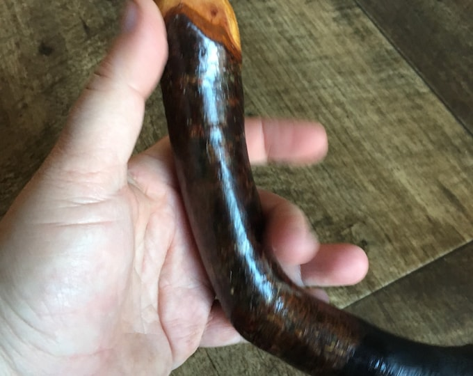 Blackthorn Walking Stick - 34 inch - Handmade in Ireland by me