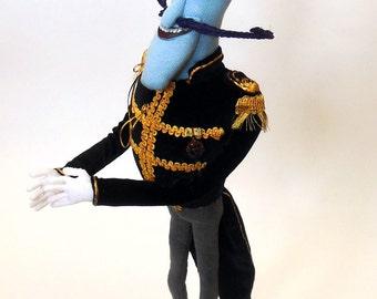 Mr. Bobinsky plush toy coraline