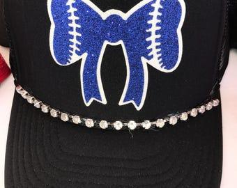 Baseball bow hat!