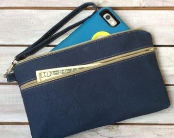 Wristlet; Design Your Own Wristlet Wallet; iPhone 7 Plus Wristlet; Phone Wallet; Cell Phone Wristlet; Cell Phone Purse; Wrist Wallet; Clutch