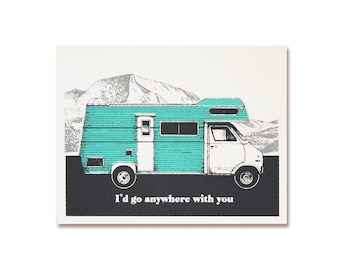 Romantic Card - RV Love