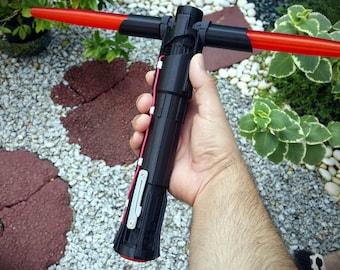 Kylo Ren accurate lightsaber 3D printed hilt Star Wars / Force Awakens /  Knights of Ren