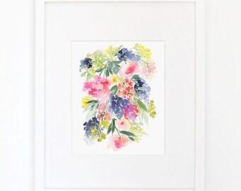 Meadow - Watercolor Art Print