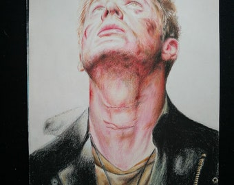 Dean Winchester print