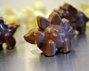 Chocolate Dinosaur Figures - 'Herd of Dinosaurs'