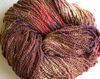 Puffin, Hand dyed cotton yarn, 8oz, 370 yds - Pheasant