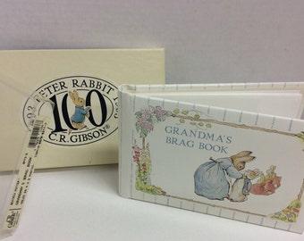 CR Gibson 1993 Grandma's Brag Book Beatrix Potter Photo Album