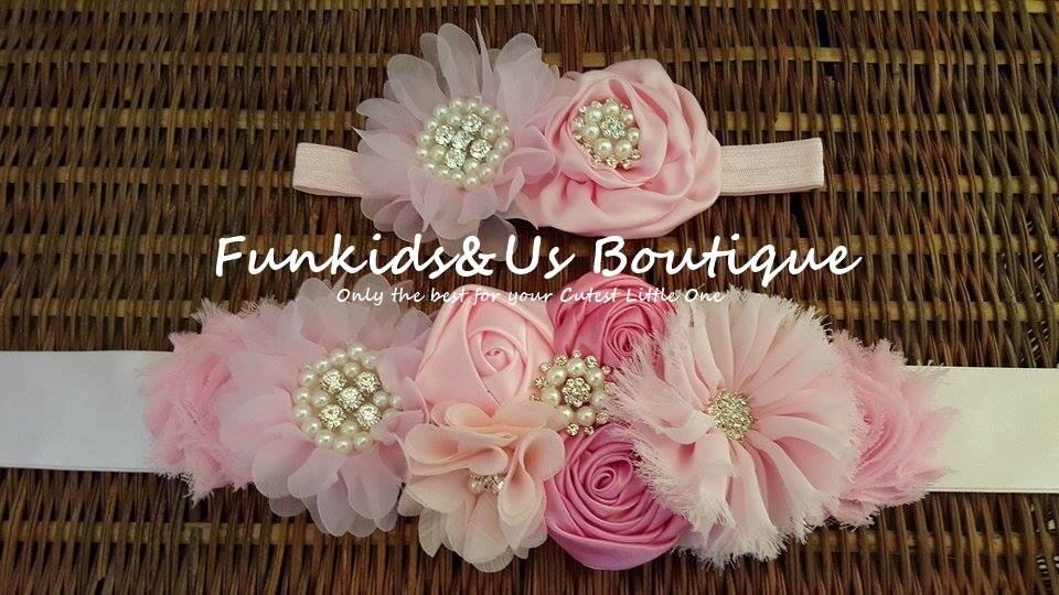 Rosa flor marco maternidad fotos Prop niña de las flores de