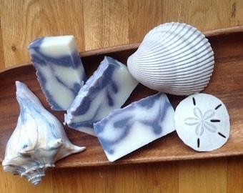 Lavender's Blue Soap, Lavender Essential Oil Soap, Artisian Soap, Indigo Soap, Cold Process Soap,