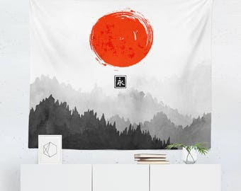 Superb Japanese Wall Art | Japanese Tapestry | Japanese Wall Decor | Japanese Gift  | Japanese Wall
