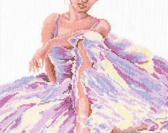 Cross Stitch Kit Ballerina 2