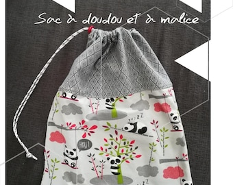 Blanket or toy bag