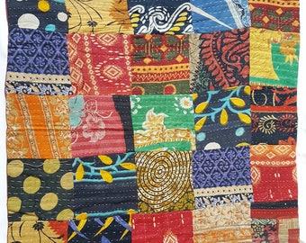 61×61cm Eura size Kantha Cushion Covers!!! Handmade Kantha Cushion Covers....!!!!
