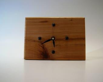 Cypress Desk Clock