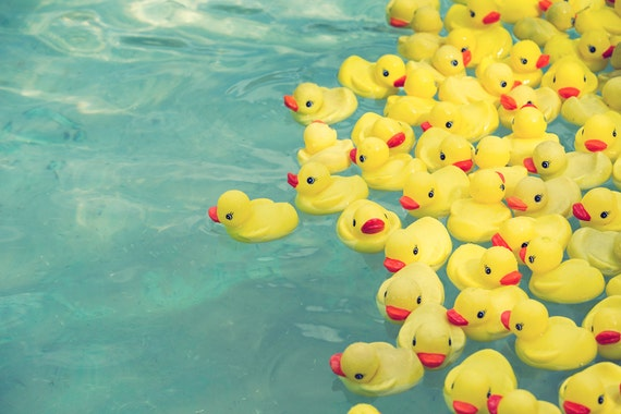 whimsical photography rubber ducks vintage style carnival