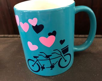 Bicycle Love Mug