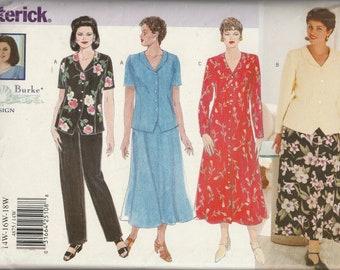 Butterick 4875 Dress, Top, Skirt and Pants