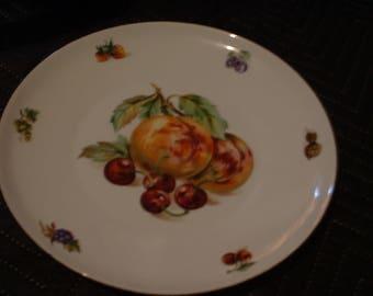 "10"" Fruit Plate Cool Kitchen Wall Art."