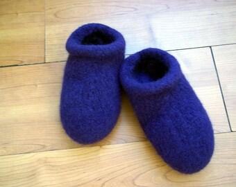 Felt Clog Slippers non slip bottoms