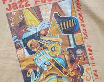 Playboy Jazz Festival t-shirt, yellow, large