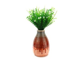 Glazed Porcelain Vase SKU P0061