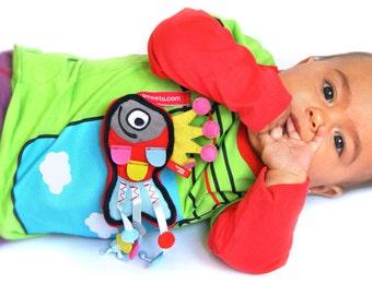 BEEETÚ Baby sweater Nubi + airplane