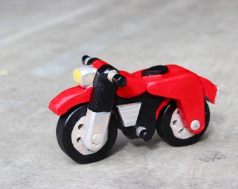 Wooden Toy Motorcycle