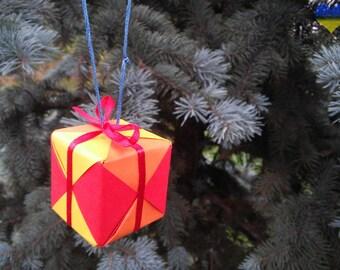 Modular Origami, 3d Origami, Origami, Origami Decorations, Origami Ornaments, Waldorf  Made, Waldorf Rainbow, Waldorf Decoration
