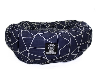 Ginger Bed's Dog Bed_ Prism Big Poppa Size (5 colors available)