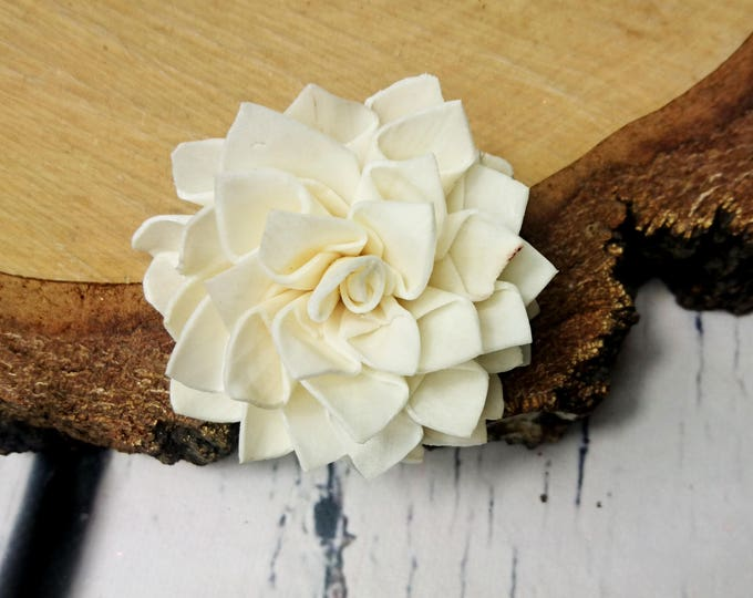 Sola Flowers diy wedding dahlia shape folded flower 25 pcs 6cm