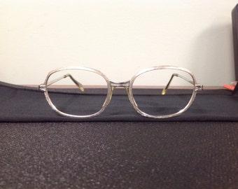 True Vintage Silver M/C Eyeglasses