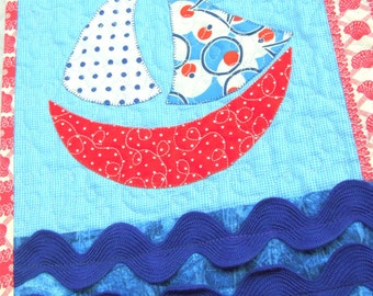 Sailboat Quilt Pattern: Permanent Wave
