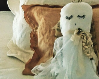 Plush Vintage Linen and Sheet Music Angel Dolls - Heavenly Angels - Original Creation by Suzanne MacCrone Rogers